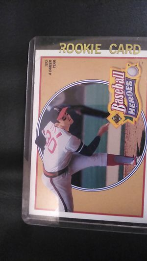 1990 upper Deck Nolan Ryan pitcher card baseball heroes card number 11 of 18 for Sale in Portland, OR