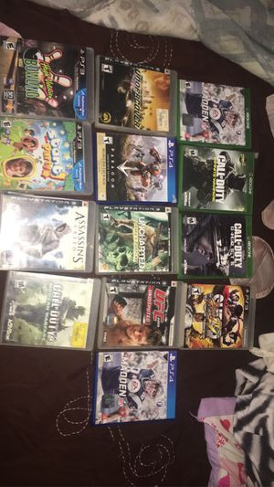 Xbox one , ps3 , ps4 games for Sale in Columbus, OH