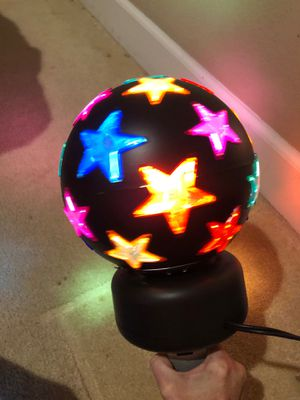 Rotating star disco ball. Disco light for Sale in San Leandro, CA