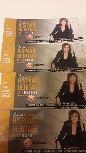 Tickets Albita Rodriguez en concierto for Sale in Pembroke Pines, FL