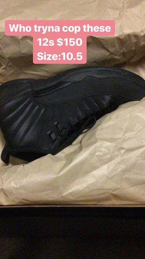 Jordan 12s Size:10.5 for Sale in Washington, DC