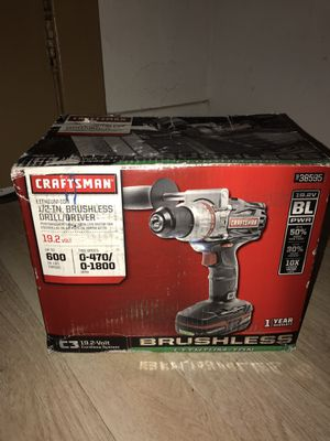 Craftsman C3 Brushless Drill Driver for Sale in Glendale, CA