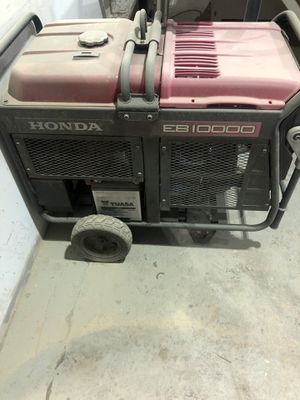 Honda Generator EB 10000 for Sale in Brooklyn, NY