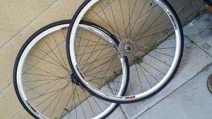 Road bike Wheel set 700c x23c 9 speed for Sale in Fullerton, CA