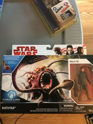 New Star Wars Rathtar with Bala-Tik figure. for Sale in Orlando, FL