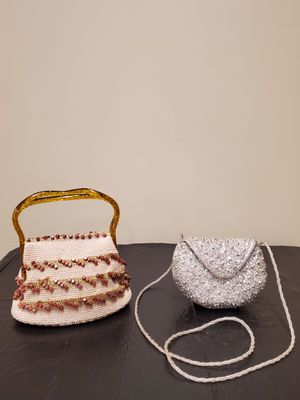 FIVE (5) EVENING HANDBAGS (4 Beaded; 1 Patent Leather) - price is for ALL FIVE (5) together and is firm. for Sale in Arlington, VA