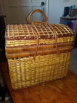 Wicker picnic basket for Sale in Mesa, AZ