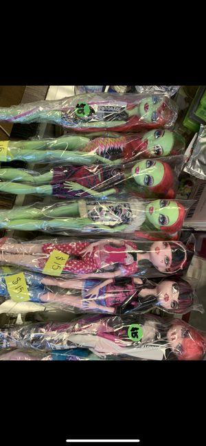Monster high dolls !!! $15 each for Sale in Burlington, NC