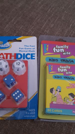 Kids games, both new. Each for Sale in Taylor, MI