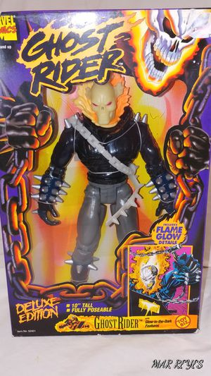 "MARVEL COMICS ""GHOST RIDER"" 10 Inch figure by Toy Biz for Sale in Queens, NY"