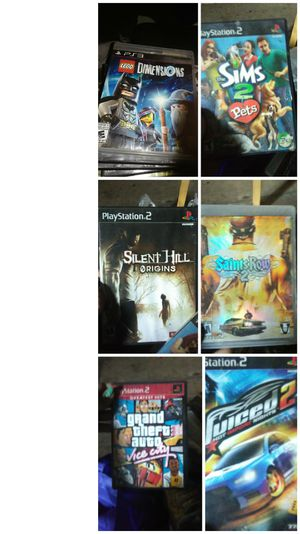 6 Ps2 games for Sale in Albia, IA