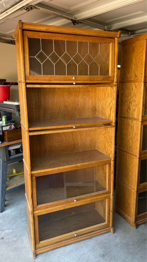 Cabinet wall unit / Bookshelves $50 a piece for Sale in Las Vegas, NV
