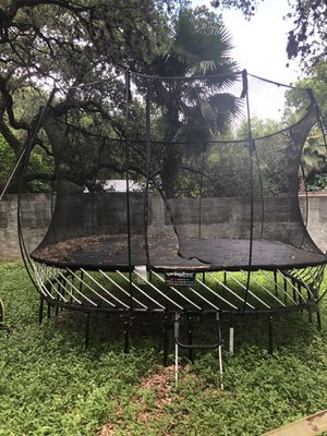 SpringFree Trampoline - Large Square for Sale in Austin, TX