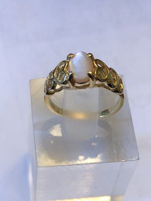 10k opal gold ring ,2.21grams, size 4.5,please look at all pictures for more details for Sale in Aurora, IL