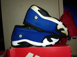 Size 12 Jordan Ferrari XIV ( not yellow ) pearl color for Sale in San Diego, CA