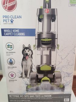Hoover Pro Clean Pet Cartpet Cleaner Vacuum for Sale in Houston,  TX