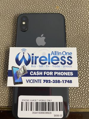 Iphone X unlocked only $499 financing available for Sale in North Las Vegas, NV