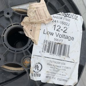 12-2 low voltage wire approximately 100 ft left for Sale in North Little Rock, AR
