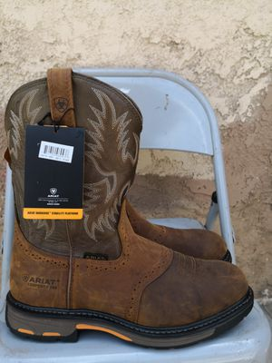 Ariat composite toe work boots size 13EE for Sale in Riverside, CA
