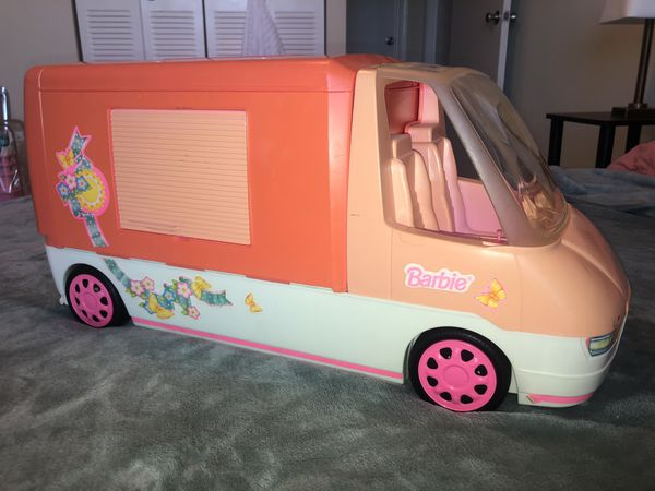 1996 Barbie Magical Motorhome, Camper, RV Vintage