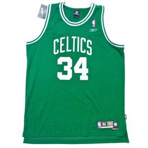 REEBOK Paul Pierce #34 NBA Green Boston Celtics Basketball Jersey Size XL for Sale in Tracy, CA
