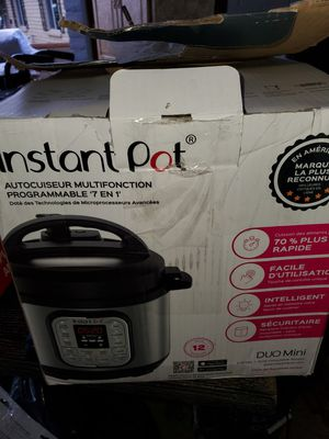 Instant pot Duo mini for Sale in Phoenix, AZ