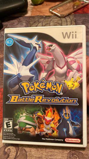 Wii pokemon battlerevolution for Sale in La Palma, CA