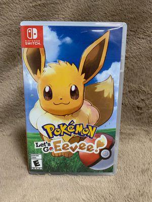 Pokémon Let's Go Eevee (Nintendo Switch) for Sale in Cocoa, FL