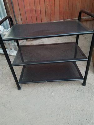 Metal stand, 3 shelf like new for Sale in Tucson, AZ