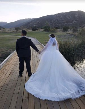 New Truly Zac Posen Corset Wedding Ball Gown Dress for Sale in Highland, CA