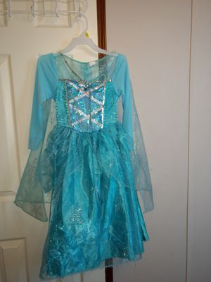 Elsa dress costume for Sale in Georgetown, TX
