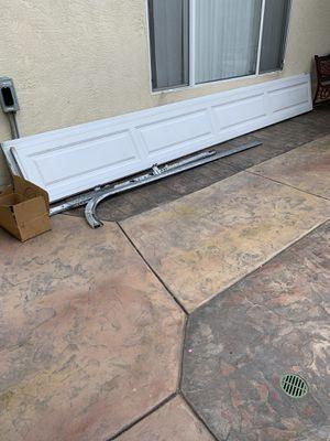 Sectional double car garage door for Sale in San Diego, CA