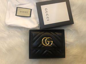 Women wallet/purse black leather for Sale in Longton, KS