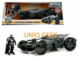 Justice League Batmobile & Figure Die Cast Metal Vehicle 1:24 scale Jada Toys for Sale in Los Angeles, CA