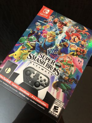 Super Smash Bros Ultimate Special Edition - Nintendo Switch Brand New Unopened for Sale in South San Francisco, CA