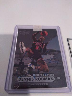 Dennis Rodman autograph for Sale in Kenmore, WA