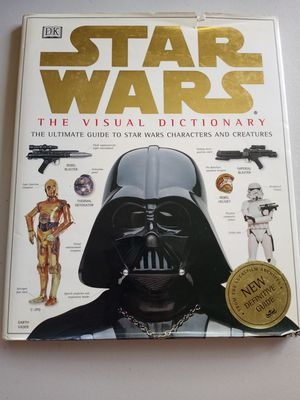 DK Star Wars the visual dictionary for Sale in San Diego, CA