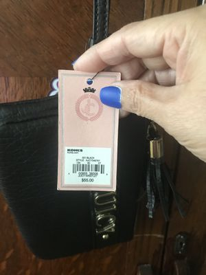 Black juicy couture wristlet for Sale in Austin, TX
