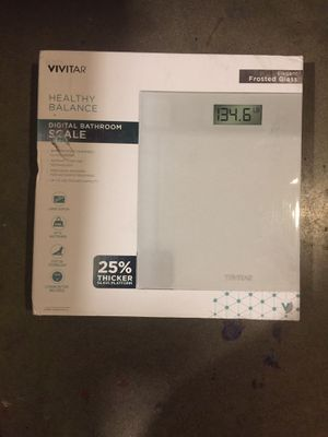 New Vivitar digital bathroom scale for Sale in Temple City, CA