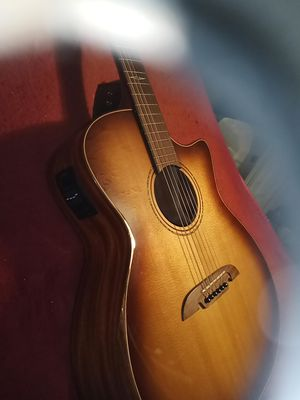 Alvarez electric acoustic guitar so you said for Sale in HILLTOP MALL, CA