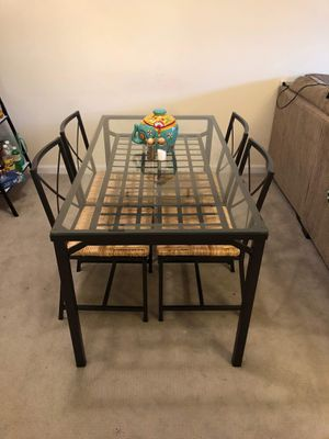 Dining table and chairs for Sale in Bethesda, MD