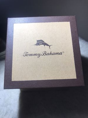 Like new Tommy Bahama men's leather watch for Sale in Plano, TX
