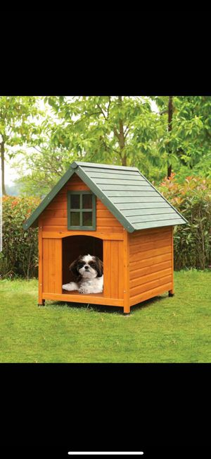 Brand new wooden doghouse! Nueva casita de madera para mascota !! for Sale in Lynwood, CA