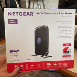 Netgear N600 Wireless Dual Band Router for Sale in Santa Monica,  CA