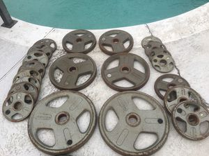 290lb Olympic weight set for Sale in Seffner, FL