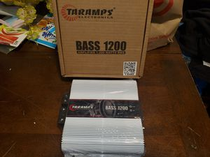 Taramps BASS 1200watts RMS 2 Ohms Amplifier for Sale in The Bronx, NY
