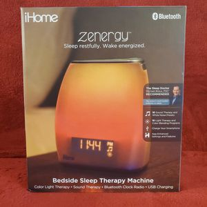 Ihome Zenergy Led Bluetooth Speaker - Sleep Therapy Machine for Sale in Los Angeles, CA