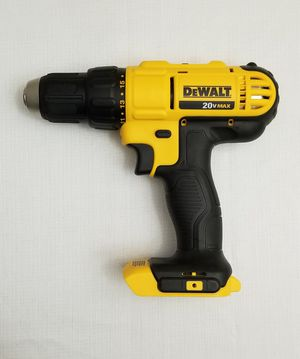 Dewalt 20-Volt MAX Lithium-Ion Cordless 1/2 in. Drill/Driver(Tool Only) for Sale in Spring, TX