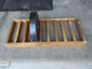 Barbell bumper plate holder for Sale in Salt Lake City, UT