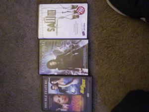 Double feature blood and sand & Blue juice, underworld Awakening, Saw 3 unrated edition DVDs for Sale in Port Orchard, WA